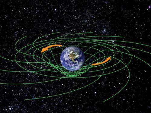 الجاذبية بسبب انحناء الفضاء