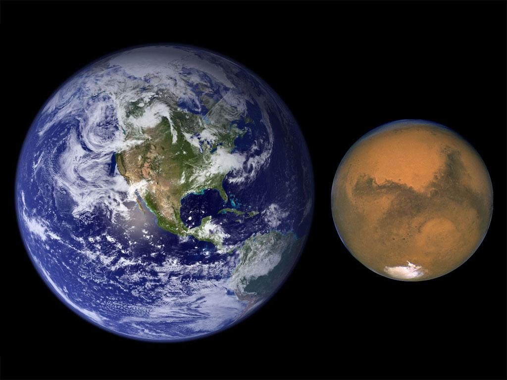 ناسا: المريخ أزرق اللون وليس أحمر