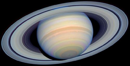 كوكب زحــــــل Saturn-true-color_small