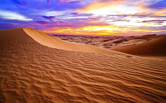 تعبير وصفي عن جمال الصحراء