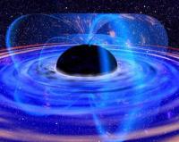 تركيز المادة في الثقب الأسود